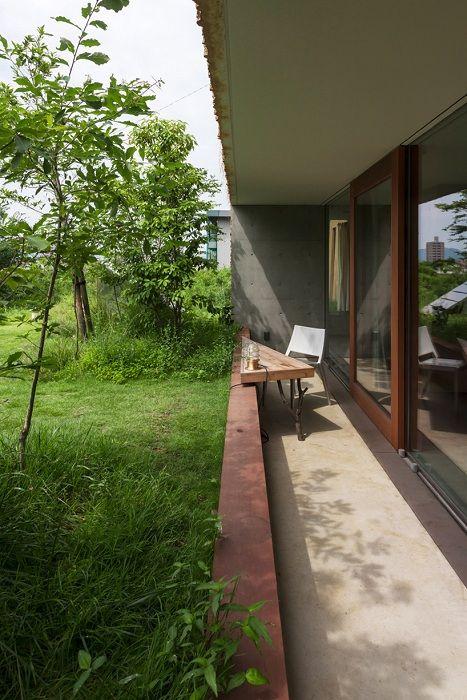 Жилой комплекс Greendo. Вид со стороны террасы.