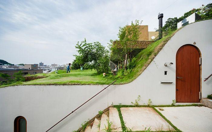 Greendo - жилой комплекс, интегрированный в зеленый ландшафт.