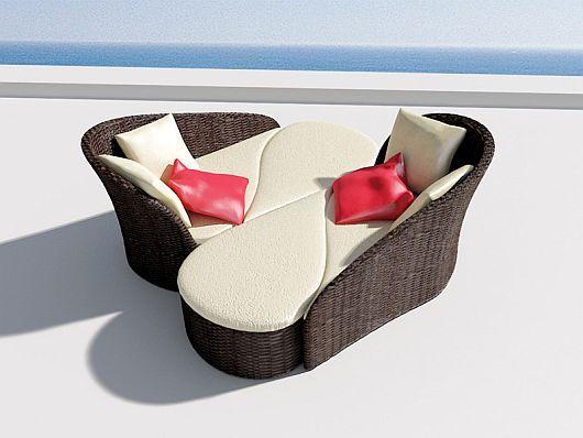 Прекрасни модулни фотьойли под формата на двоен диван