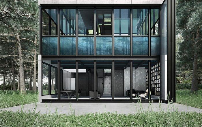 Архитектурен проект на LAAV Architects.