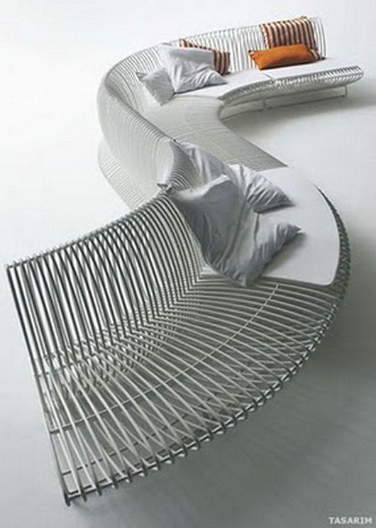 Воздушная скамейка