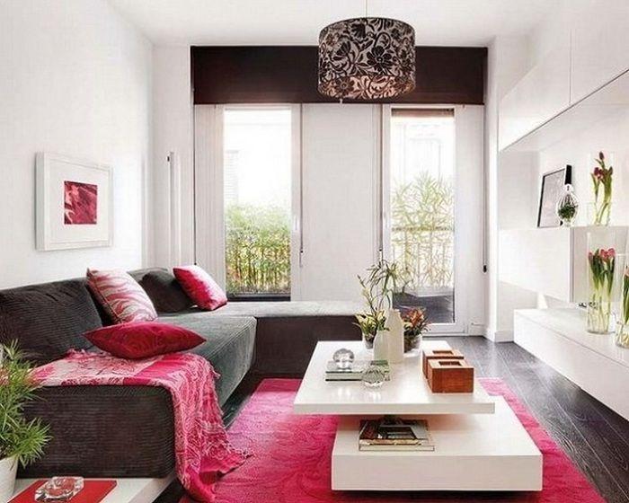 Добро решение е да създадете хладен интериор на всекидневната с малка площ, която ще ви хареса.