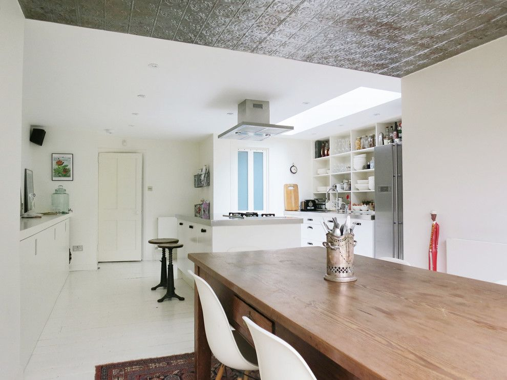 Естественное освещение кухни
