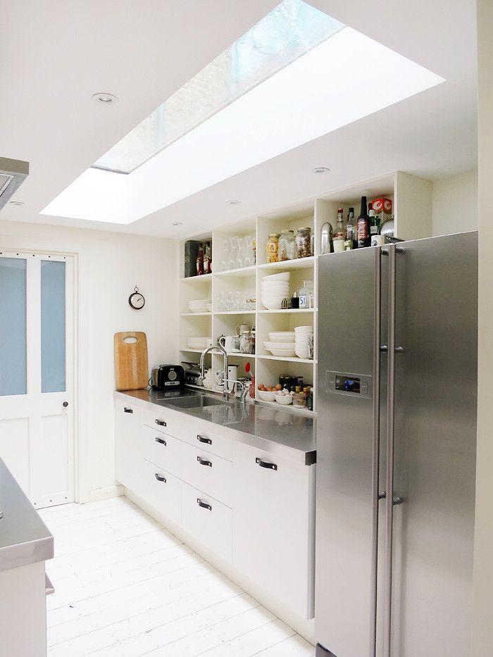 Естественное освещение в интерьере кухни