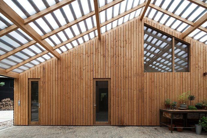Barn Rijswijk. Odnowiona stodoła.