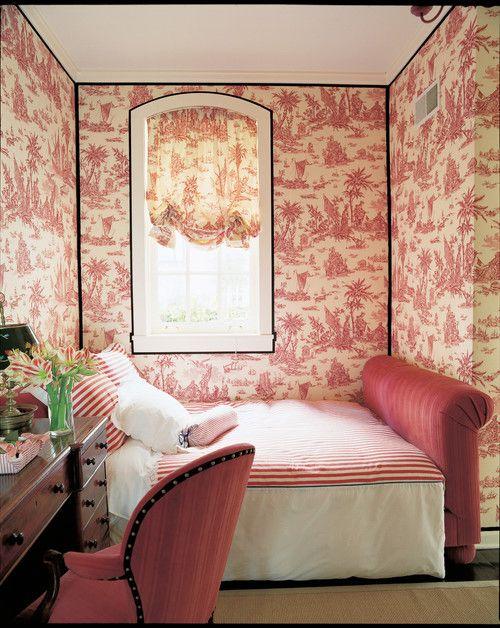 Тапет в спалнята. Примери в снимки