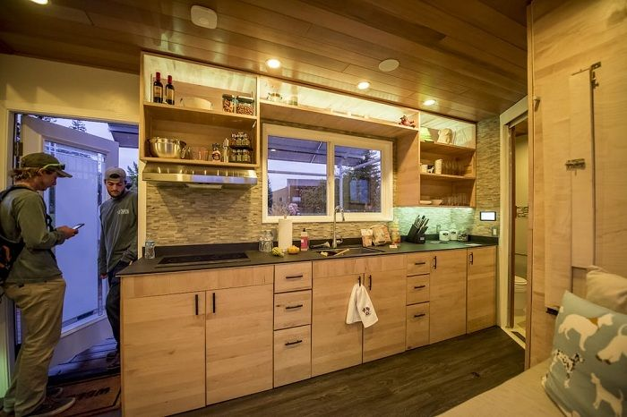 Мобильный домик, разработанный студентами университета Santa Clara University.