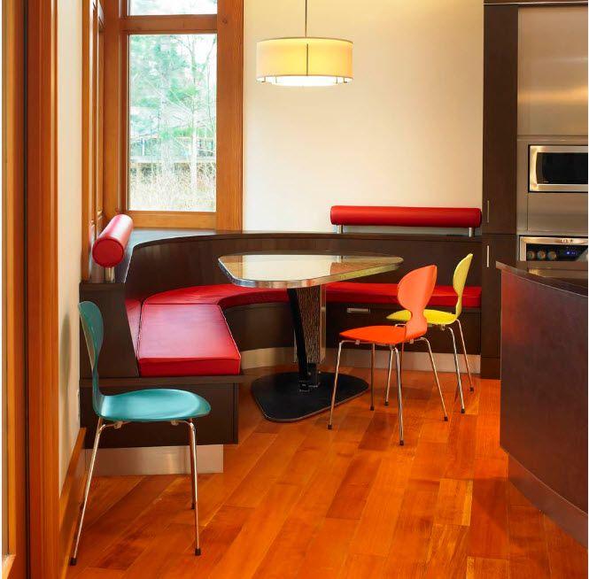 100 лучших фото идей: кухонный уголок с системами хранения
