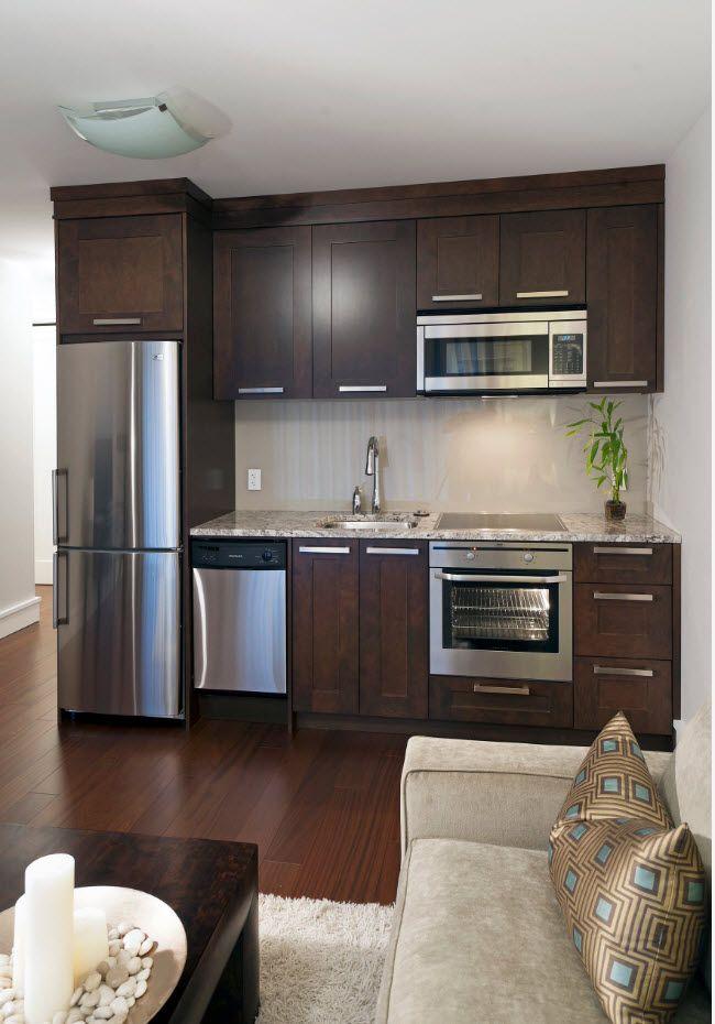 Kjøkkenområdet i stuen