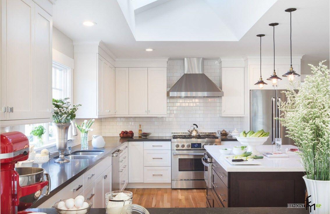 Классика в кухонном помещении
