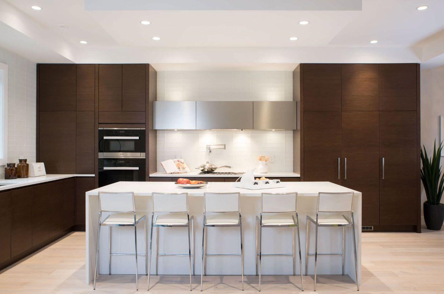 Модерен кухненски интериор