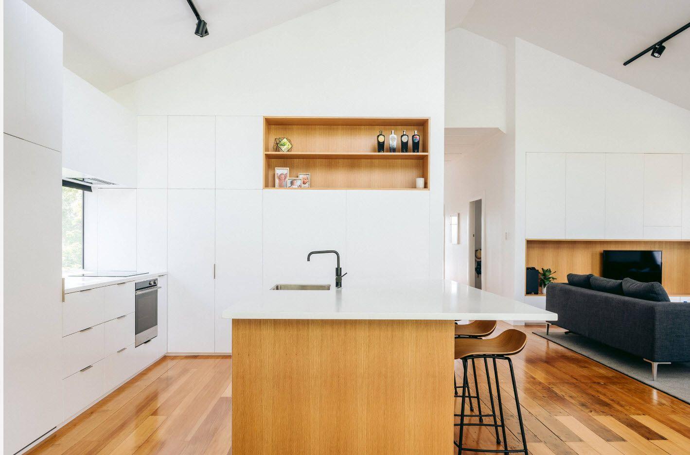 Модерен дизайн на кухня