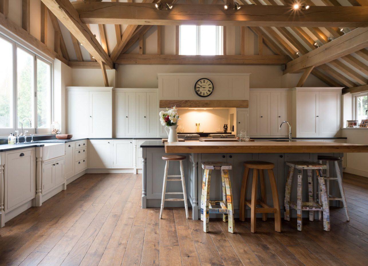 Кухня в еко стил