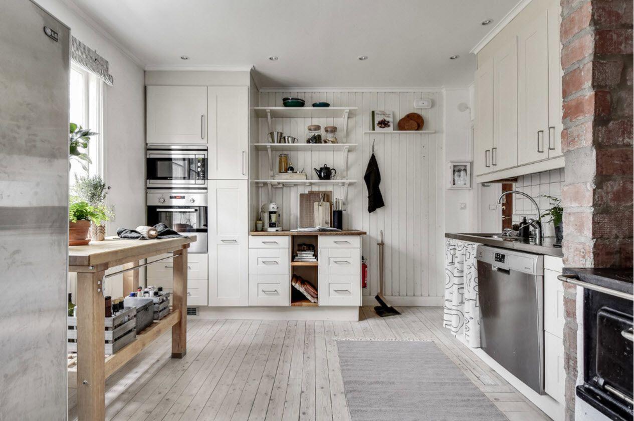 Прованс за кухнята на частна къща