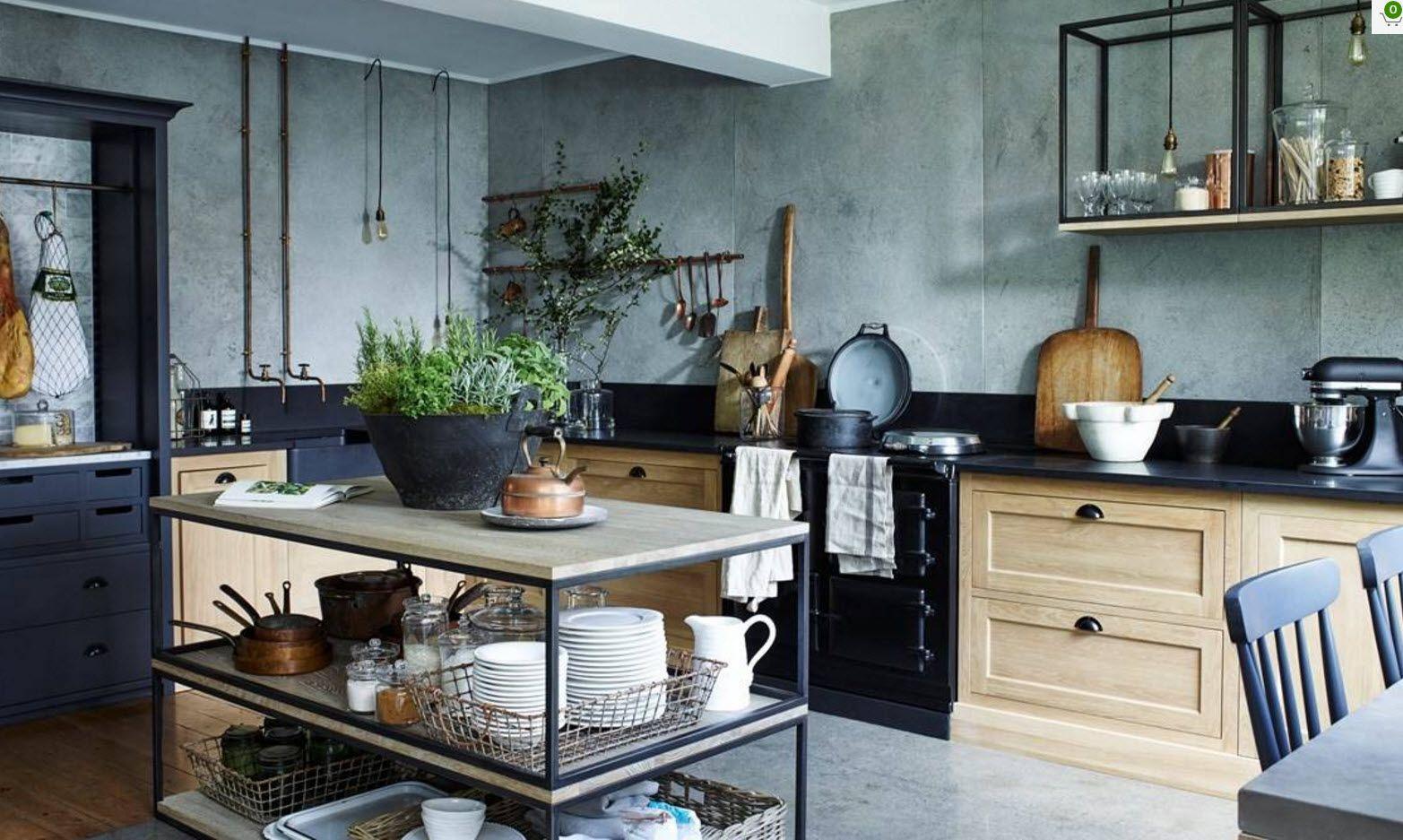 Оригинален дизайн на кухня