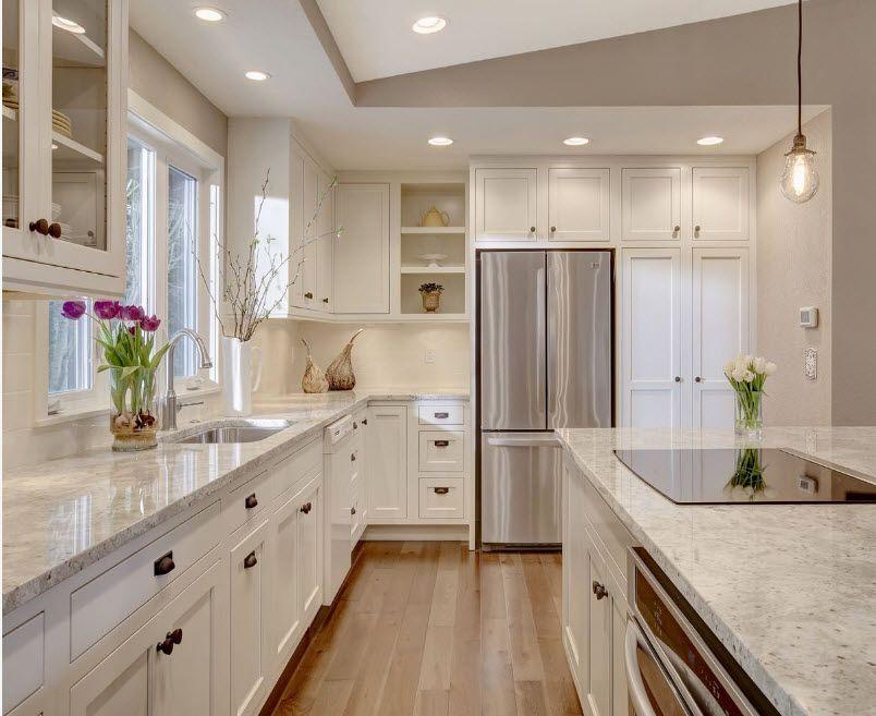 Кухня в пастелни цветове