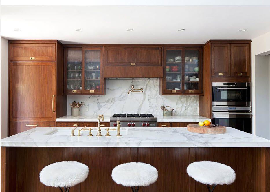 Контрастни комбинации за кухнята