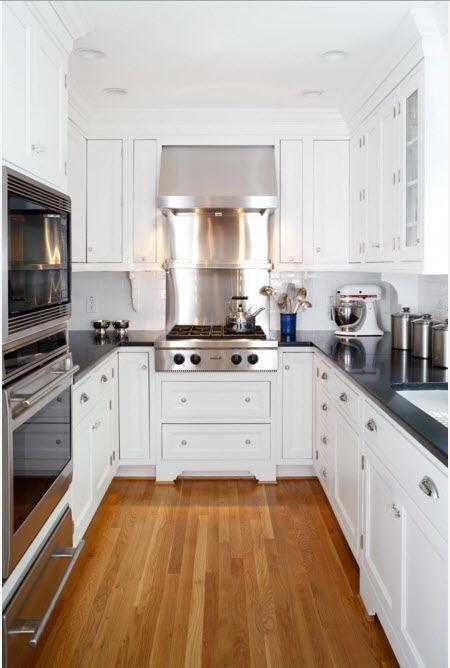 Kjøkkeninnredning i moderne stil