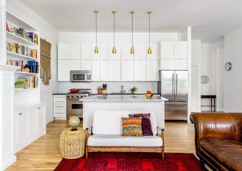 Kjøkken som en del av stuen