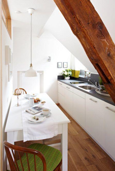 Kjøkken med sofistikert arkitektur