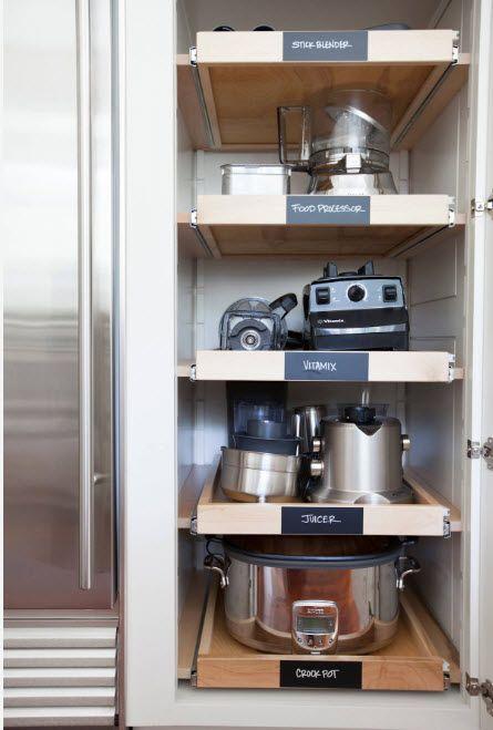 Oppbevaringssystemer for oppvask