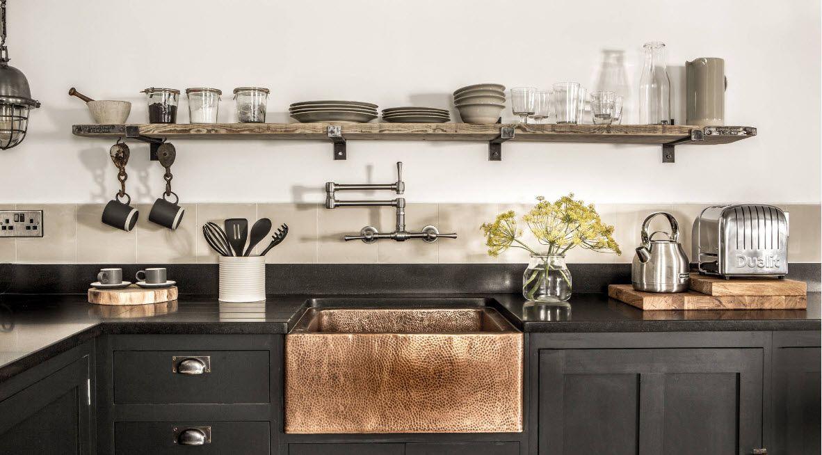 Оригинални решения в кухненското пространство