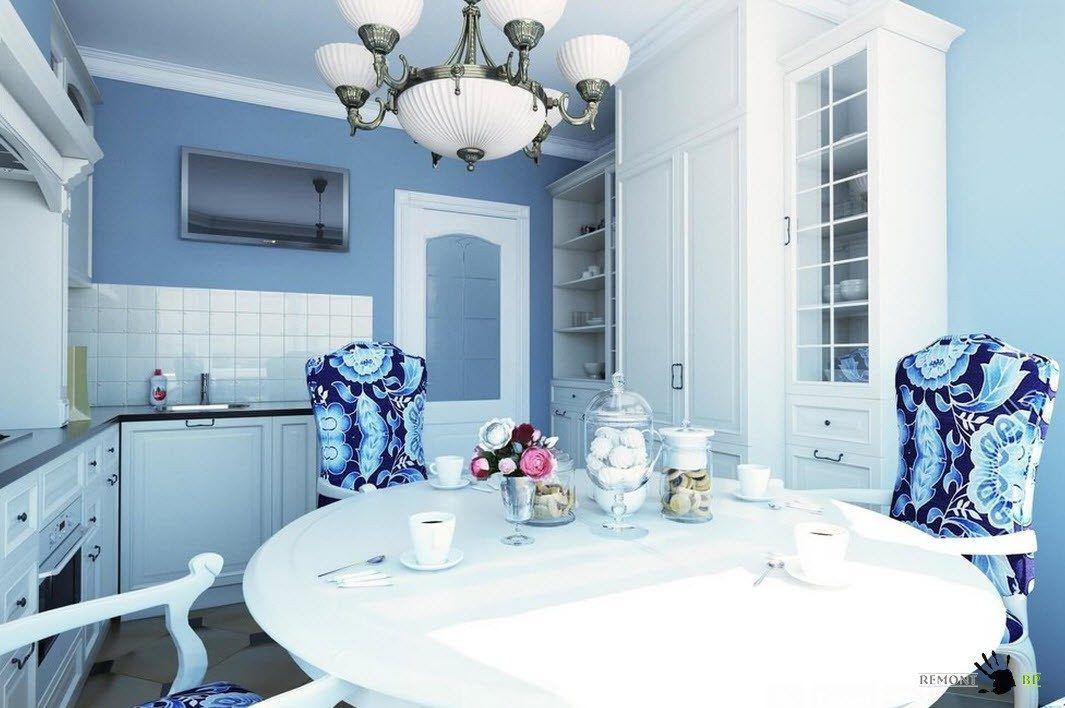 Бяла и синя кухня