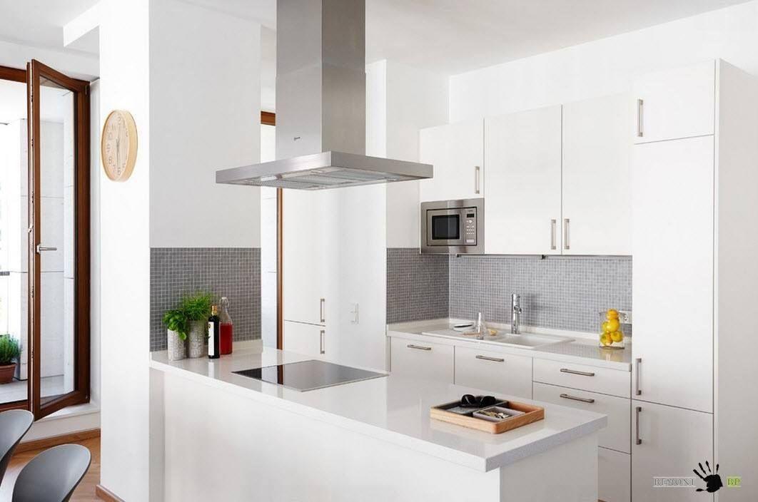 Белый цвет для кухонного гарнитура