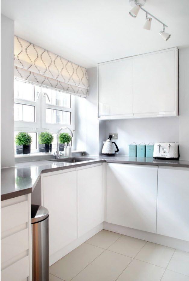 В бялата кухня
