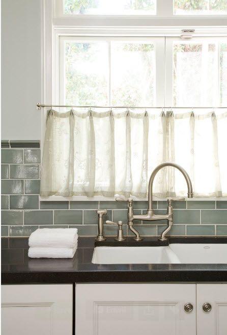 Прозорец над мивката