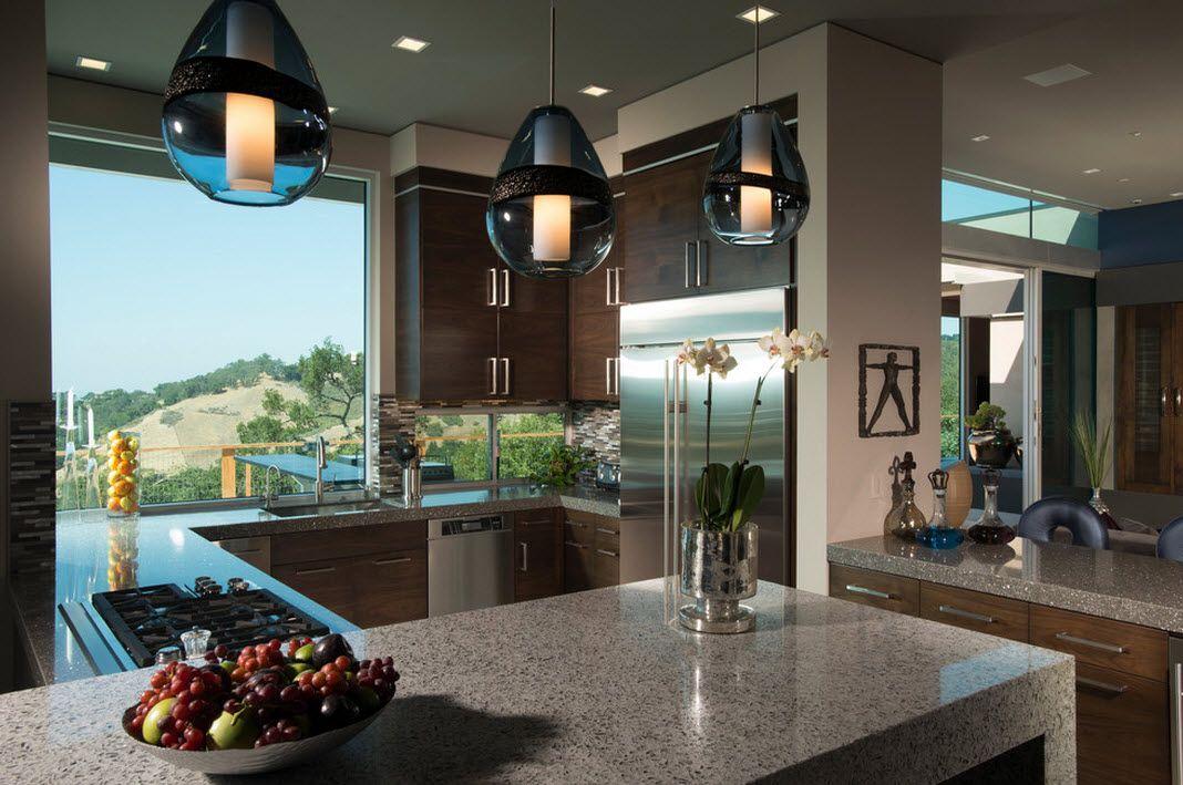 Elegant kjøkken