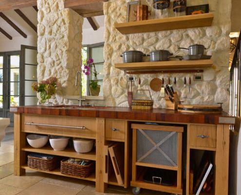 Naturstein i kjøkkeninnredningen