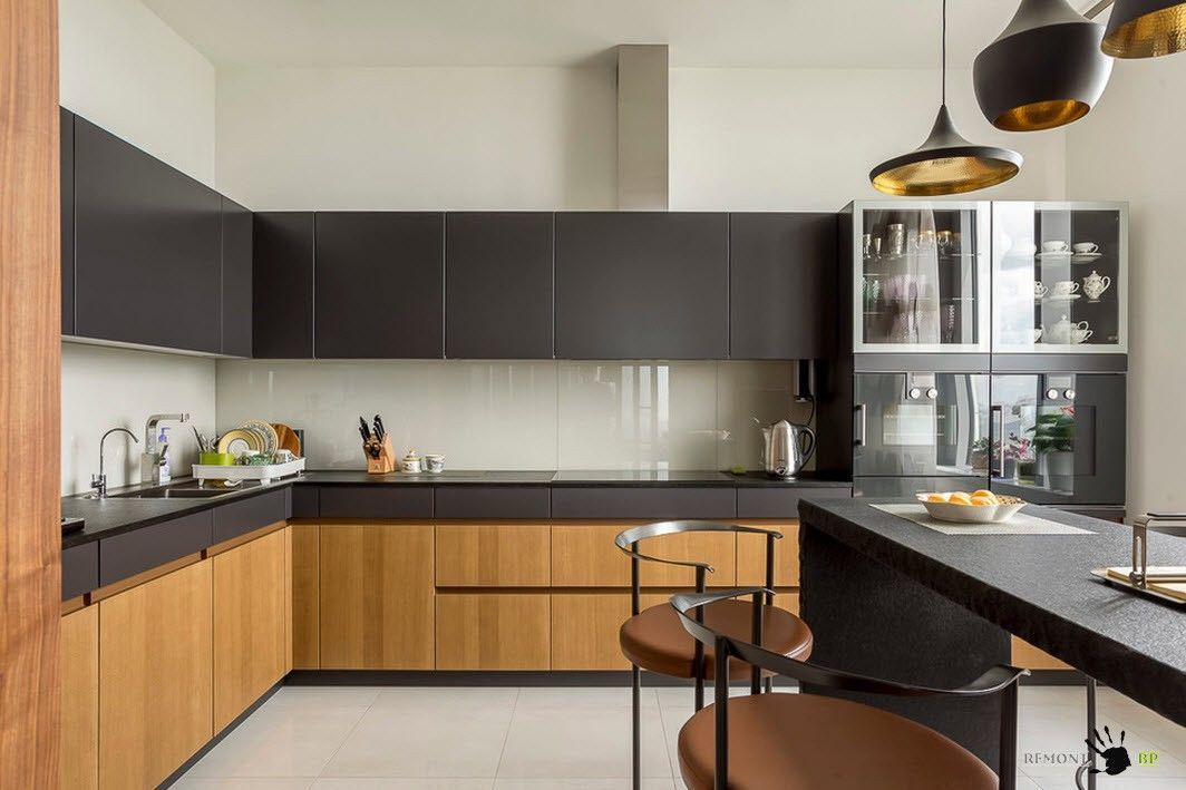 Динамичен дизайн на кухнята