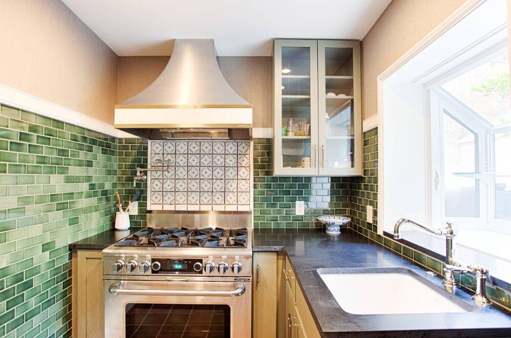 L-образно оформление на кухнята