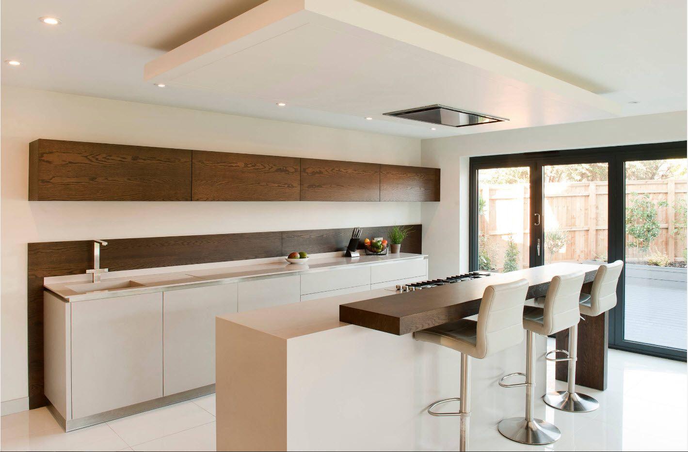 Рациональный дизайн кухонного помещения