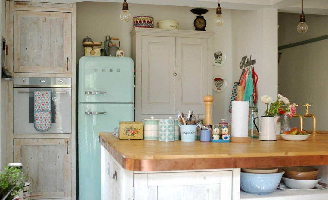Игра контрастов в кухонном пространстве