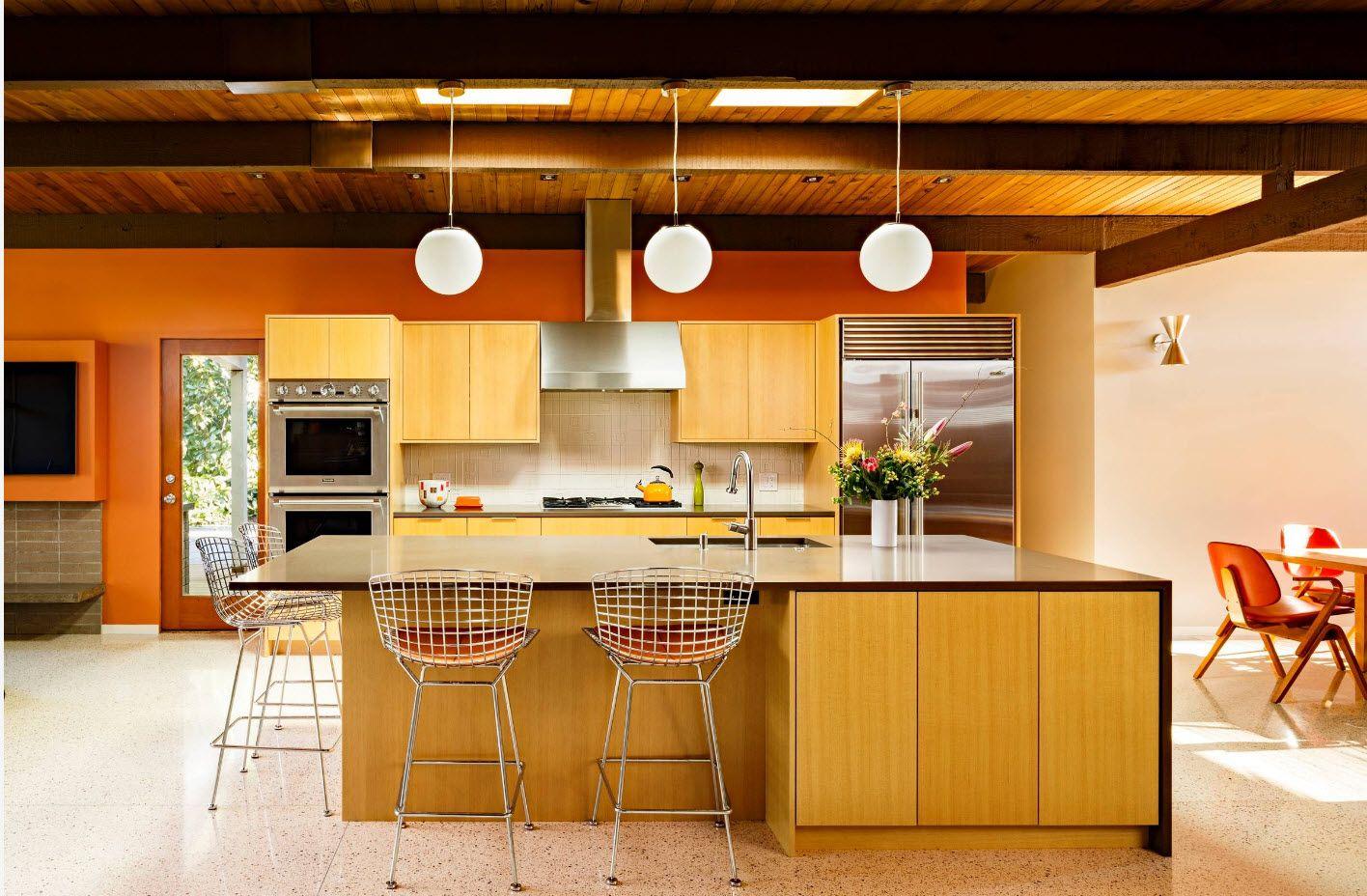 Яркая древесина для мебельного гарнитура