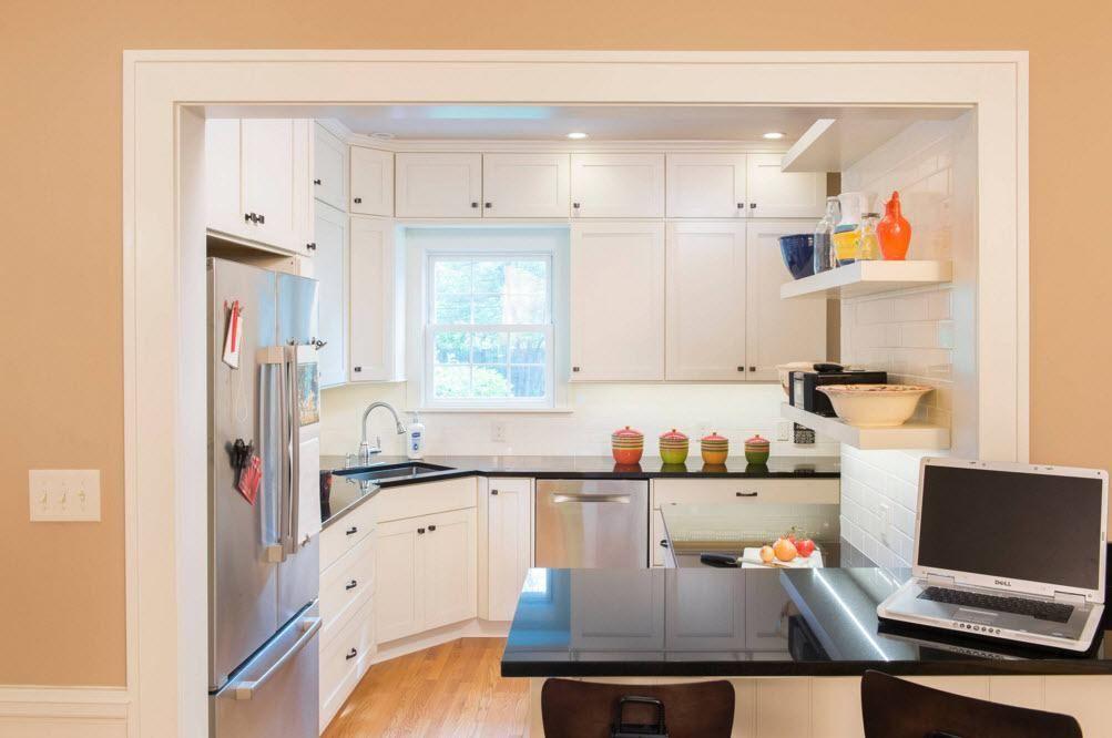 Белоснежная идиллия в кухне