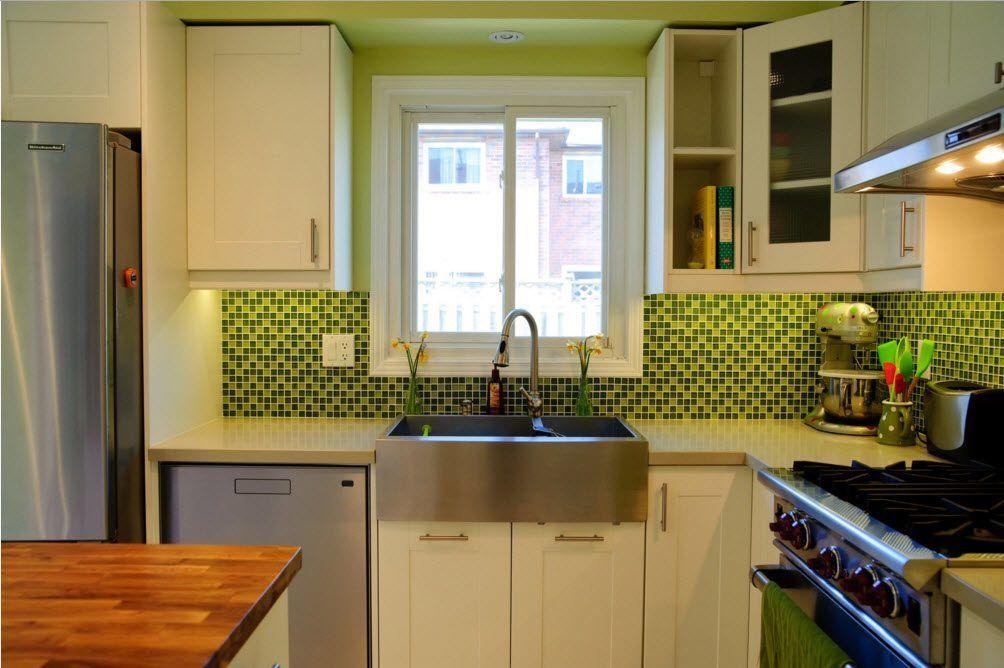 Lyst kjøkkenforkle