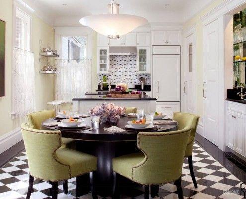 Cuisine-salle à manger dans la maison