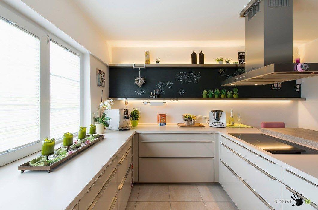 Оформление на скромна кухня