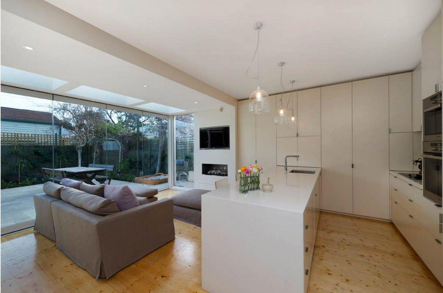 Grå sofa for moderne stil