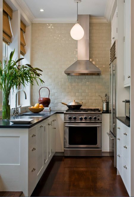 Кухонный фартук на всю стену