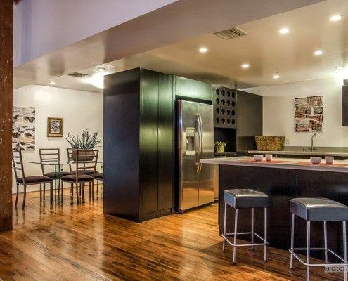 Кухненски мебели в стил лофт