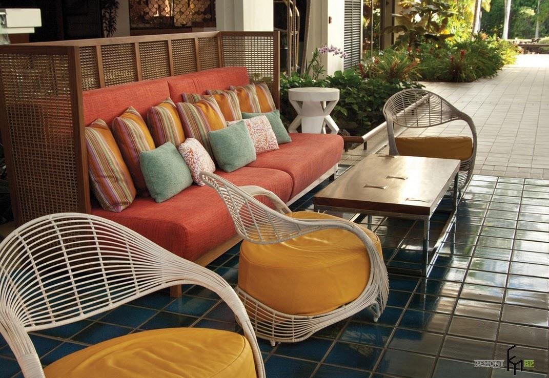 Външни мебели