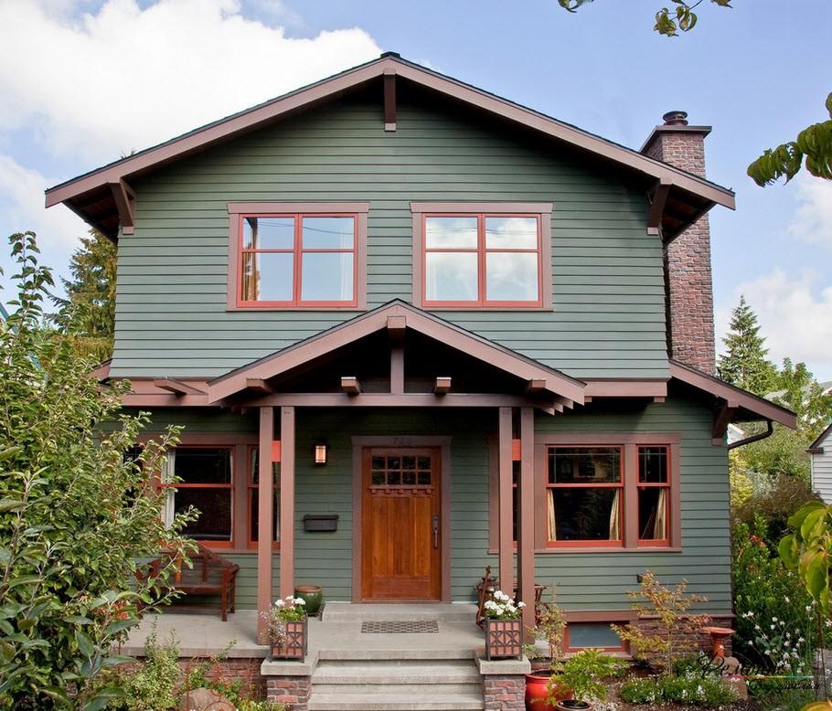 Къща с веранда