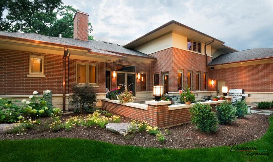 Ограда да съответства на облицовката на къщата