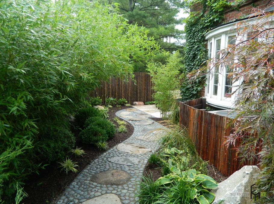 Аккуратная садовая дорожка
