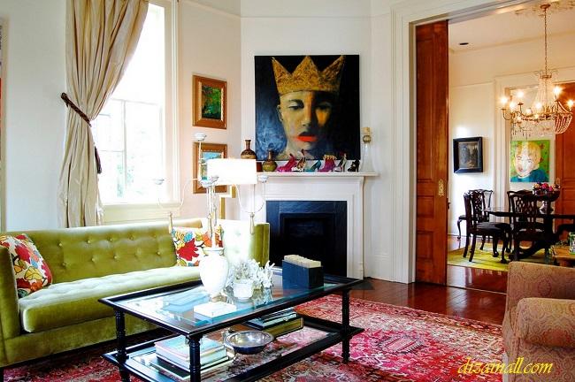 Камин в интерьере: 100 лучших идей для гостиной