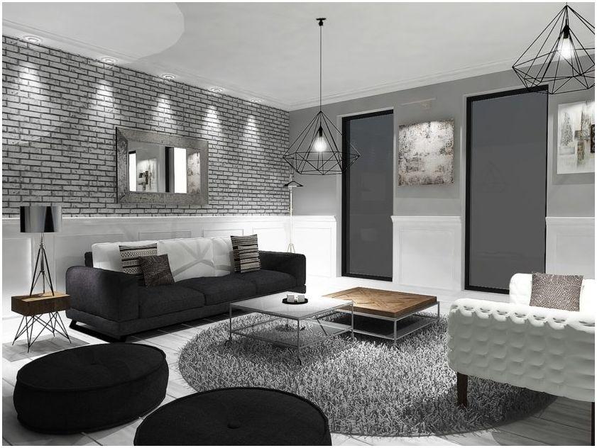 & quot; Stue i to farger: bilder av det originale interiøret & quot;